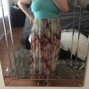 Dresses & Skirts - Never worn Remain multicolor maxi tube dress